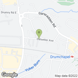 Map of Shampooch in Glasgow, lanarkshire