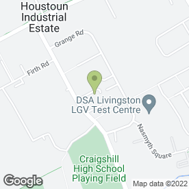 Map of Kirkton Flooring in Houstoun Industrial Estate, Livingston, west lothian