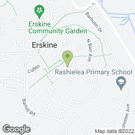 Map of Scorpio Transit in Erskine, renfrewshire