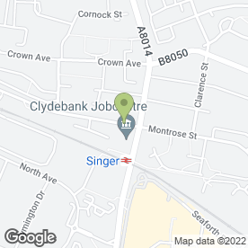 Map of Classic Cutz in Clydebank, dunbartonshire