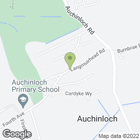 Map of D S DECORATORS in Kirkintilloch, Glasgow, lanarkshire