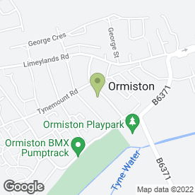 Map of Doves of Love in Ormiston, Tranent, east lothian