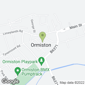 Map of Cool Reception Live Band in Ormiston, Tranent, east lothian