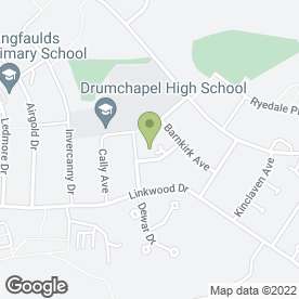 Map of Crannog Care Home in Glasgow, lanarkshire