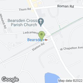 Map of The Inn in Bearsden, Glasgow, lanarkshire