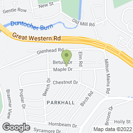 Map of O'Neill Plasterers in Clydebank, dunbartonshire
