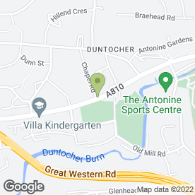 Map of ENAVIGATE in Duntocher, Clydebank, dunbartonshire