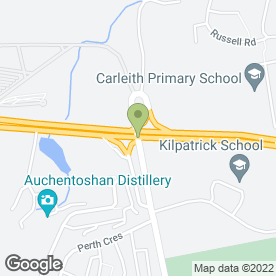 Map of Highline Travel in Clydebank, dunbartonshire
