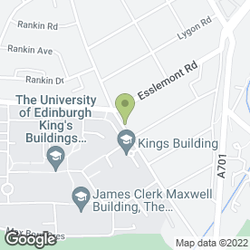 Map of e-vets Emergency Service in Edinburgh, midlothian