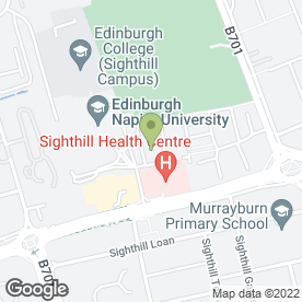 Map of Chris Whitehead Painting & Decorating in Edinburgh, midlothian