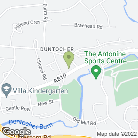 Map of Abidaisy Flowers in Duntocher, Clydebank, dunbartonshire