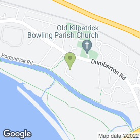 Map of R & B Cleaning Services in Old Kilpatrick, Glasgow, lanarkshire