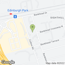 Map of Robert W Brownlie in Edinburgh, midlothian