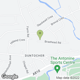 Map of Anniesland Driving Centre Ltd in Clydebank, dunbartonshire