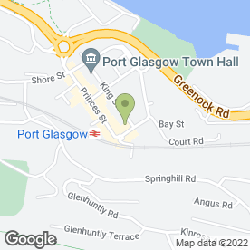 Map of DUTCH FLOWER CORNER in Port Glasgow, renfrewshire