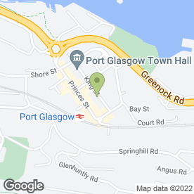 Map of Homes For You (Scotland) Ltd in Port Glasgow, renfrewshire