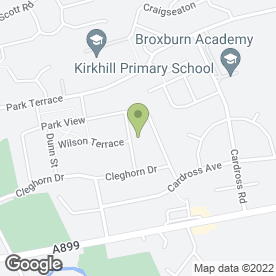 Map of Blue Sky Tuition & Consultancy in Broxburn, west lothian