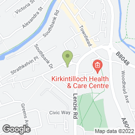 Map of Wagtail Pet Supplies in Kirkintilloch, Glasgow, lanarkshire