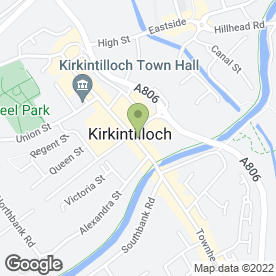 Map of Attic Antiques in Kirkintilloch, Glasgow, lanarkshire