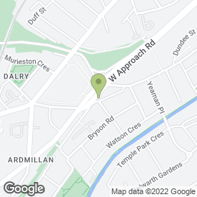 Map of Saltire Motorcycles Ltd in Edinburgh, midlothian