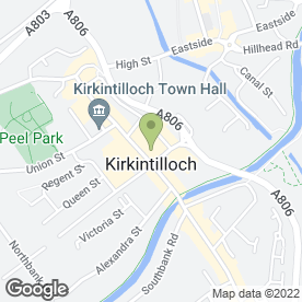 Map of Box Property in Kirkintilloch, Glasgow, lanarkshire