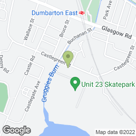 Map of S1 Autoservices in Dumbarton, dunbartonshire