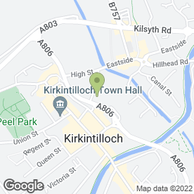 Map of Alpha Windows & Doors in Kirkintilloch, Glasgow, lanarkshire