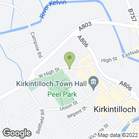 Map of C M Plumbing in Kirkintilloch, Glasgow, lanarkshire