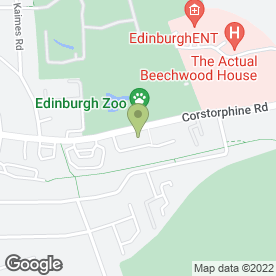 Map of Enterprise Rent-A-Car in Edinburgh, midlothian