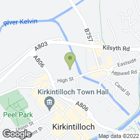 Map of Buzzing Works Ltd in Kirkintilloch, Glasgow, lanarkshire