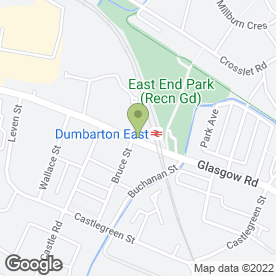 Map of Perfect Choice in Dumbarton, dunbartonshire