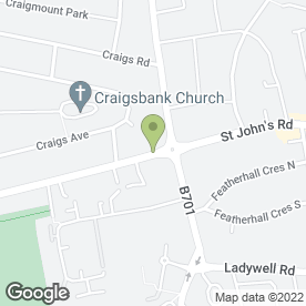 Map of Smile Plus Dental Care in Edinburgh, midlothian