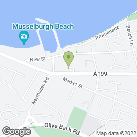 Map of Plastercrafts in Musselburgh, midlothian