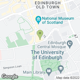Map of Zen Lifestyle in Edinburgh, midlothian