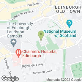 Map of George Heriot's School in Edinburgh, midlothian