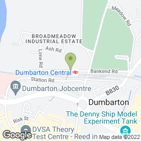 Map of John Dobbin in Broadmeadow Industrial Estate, Dumbarton, dunbartonshire