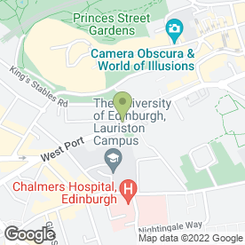 Map of Butterflies in Edinburgh, midlothian