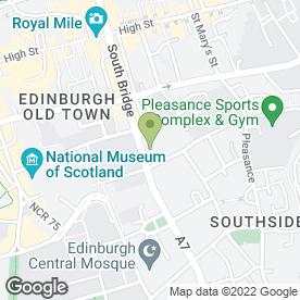 Map of Ciao Roma in Edinburgh, midlothian