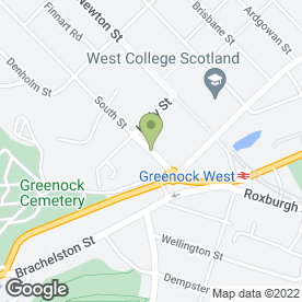 Map of BEP Signs in Greenock, renfrewshire