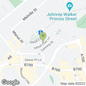 Map of Lindsays in Edinburgh, midlothian