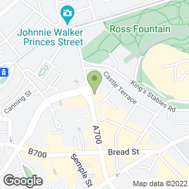Map of Conetta & Co in Edinburgh, midlothian