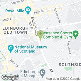 Map of Royal Oak in Edinburgh, midlothian