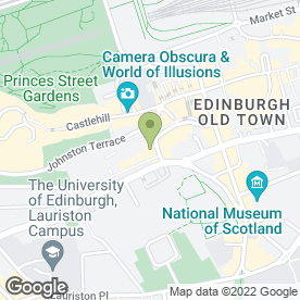 Map of Aha ha ha Jokes & Novelties in Edinburgh, midlothian