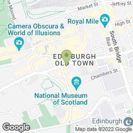 Map of Opium Night Club in Edinburgh, midlothian