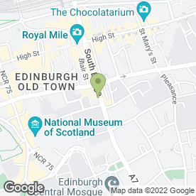 Map of Netversal Repair Centre in Edinburgh, midlothian