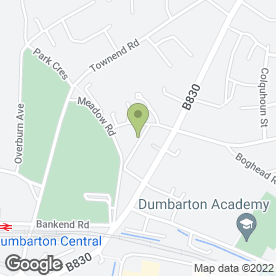 Map of Alan Steel Plasterer in Dumbarton, dunbartonshire