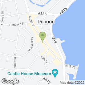 Map of Pricewise in Dunoon, argyll