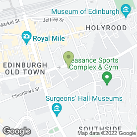 Map of Blossom Beauty in EDINBURGH, midlothian