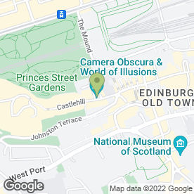 Map of Timberbush Tours in Edinburgh, midlothian