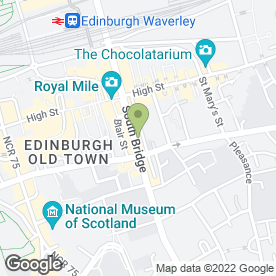 Map of The Phone Box in Edinburgh, midlothian